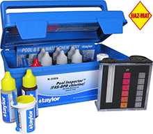 Taylor California Regulatory FAS/DPD Chlorine Test Kit