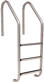 Standard Pool Ladder with Stainless Steel Treads