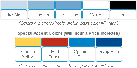Olympic Pool Paint Colors