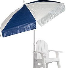 Recreonics Alternating Panel Umbrella