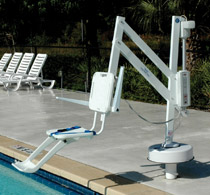 SPLASH Semi-Portable Pool Lift