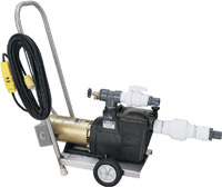 Recronics Vacuum Pump with Stainless Steel Cart