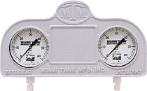 Miami Tank Sand Filter Gauge Panel Assembly