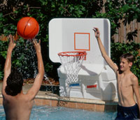 Pool Shot Basketball