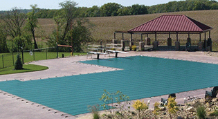 Swimming Pool Solid and Mesh Safety Covers