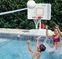 Spike-n-Splash Pool Volleyball-Basketball Combo