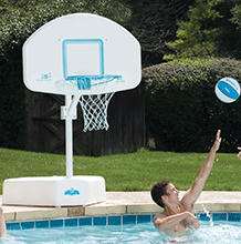 Splash and Shoot Portable Pool Basketball