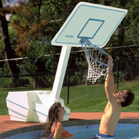Splash and Slam Pool Basketball