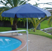 "7' 6"" Poolside Umbrella"