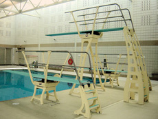 Durafirm Three and One Meter Dive Stands