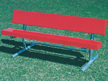 Permanent and Portable Fiberglass Bench
