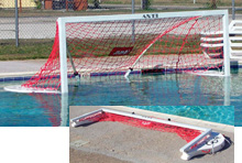 Competition Floating and Folding Water Polo Goal