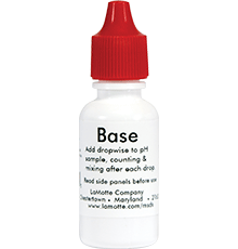 Lamotte Reagent P-6460-E Base Demand, (15 ml)