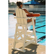 Tailwind LG-510 Recycled Plastic Lifeguard Chair