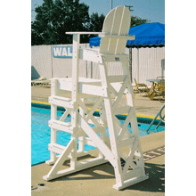 Tailwind TLG530 Recycled Plastic Lifeguard Chair