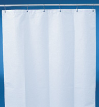 Commercial Grade Shower and Stall Curtain for Public Facilities