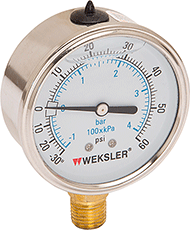Standard Liquid Fill Gauge