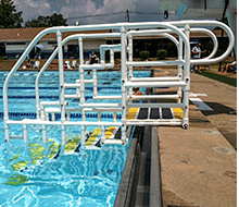 ADA Aqua Trek Swimming Pool Access Ladder
