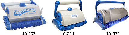 Automatic Pool Cleaners Aquamax and Ultramax from Aqua Products