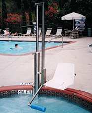 Aquatic Access ADA-Compliant Lift - IGAT-180-135