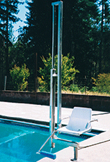 Aquatic Access ADA-Compliant Lift - IGAT-180AD