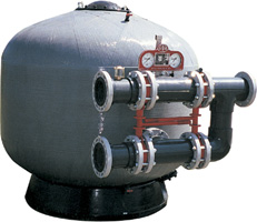Vertical Composite Hi_Rate Sand Filter
