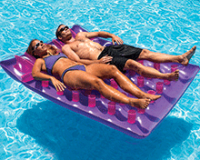 Double French Mattress Swimming Pool Float