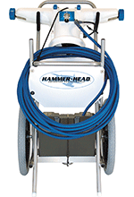 Hammer-Head Pool Cleaning System