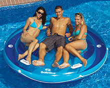 Jumbo Island Swimming Pool Float