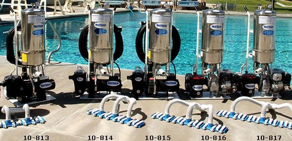 Maxisweep Portable Pool Vacuum Systems