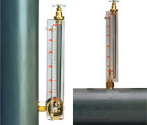 Vertical and Horizontal Piro-Flowgauge Applications