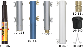 Pole and Handle Connectors and Adapters