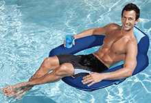 Spring Float SunSeat Swimming Pool Float