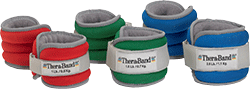 Thera-Band Comfort Fit Ankle and Wrist Weights.