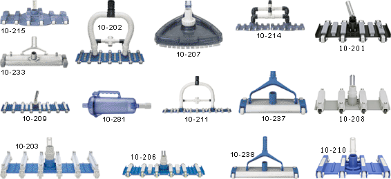 Swimming Pool Vacuum Cleaner Heads