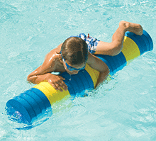 Water Roll Foam Floating Children's Play Log