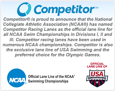 Competitor official lane announcement.