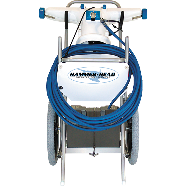 Hammer-Head Swimming Pool Cleaning System