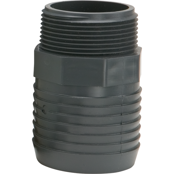 1 5 Inch X 2 Inch Male Adapter For Pool Vacuum And Discharge Hoses