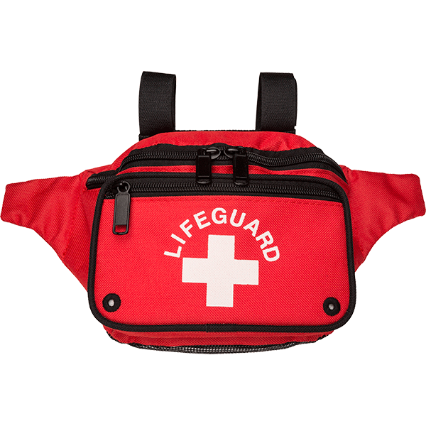 e0ea93045247 DrainEasy lifeguard fanny pack is a drain-through hip pack. Enhanced air  flow reduces