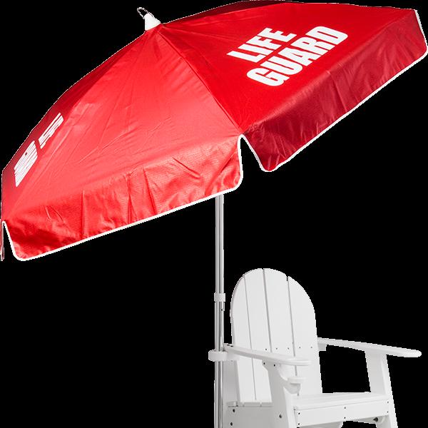 Recreonics Laminated Vinyl Panel Lifeguard Umbrella