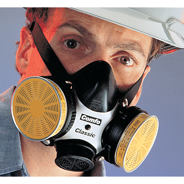 Comfo II Respirator Chemical Protection Half Face Mask
