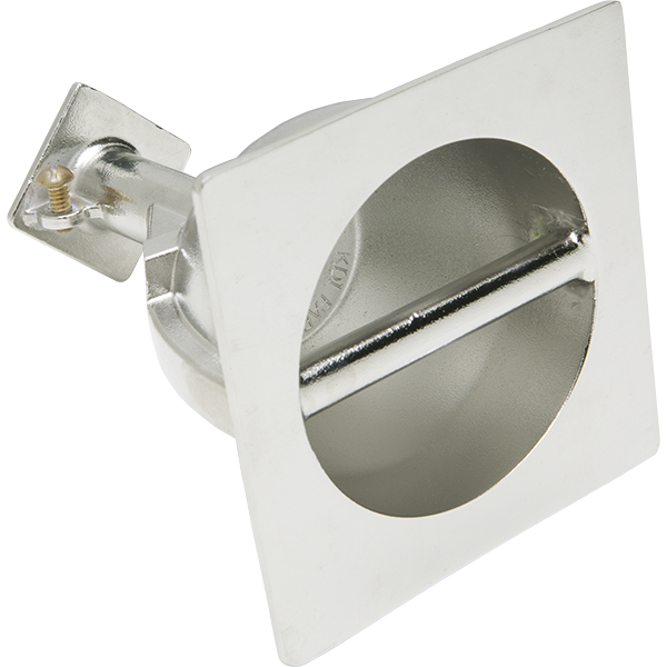 T-316 stainless steel cup anchor with cross bar includes integral cross bar and grounding screw.