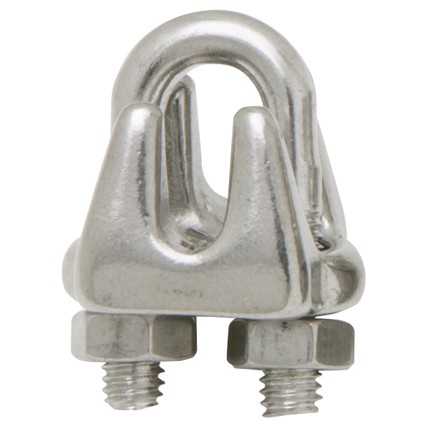 Stainless Steel Cable Clamp 0 23 Inch To 0 28125 Inch