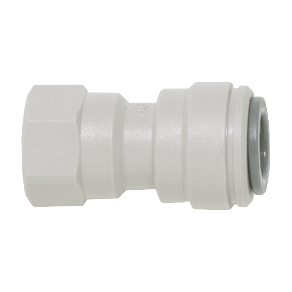 Replacement quick-connect hydraulic fitting for Stark commercial pool filters.