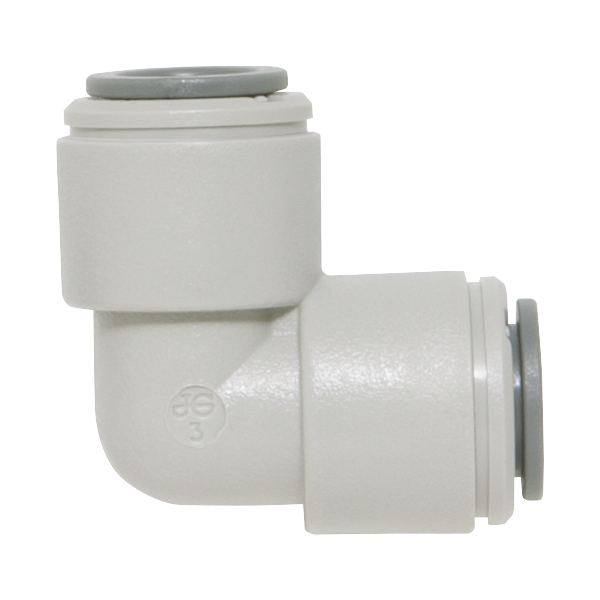 Replacement quick-connect union elbow fitting for Stark commercial swimming pool filters.