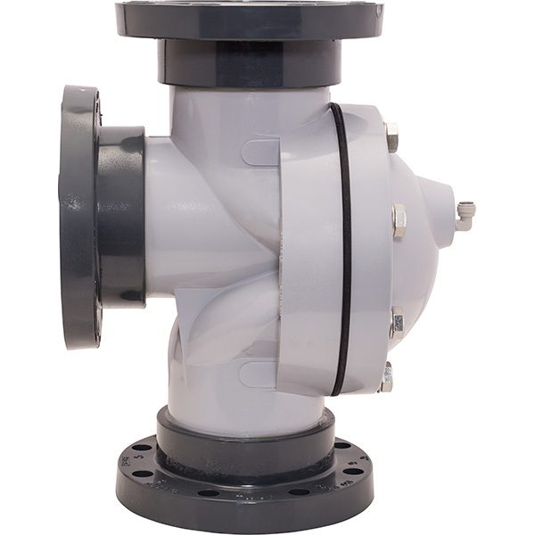 "Stark swimming pool filters 6"" flanged backwash valve."