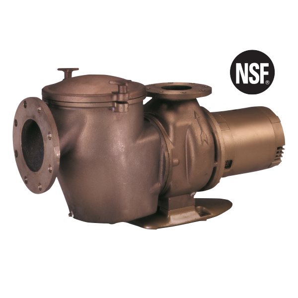 Pentair Purex C Series heavy-duty bronze swimming pool pumps.
