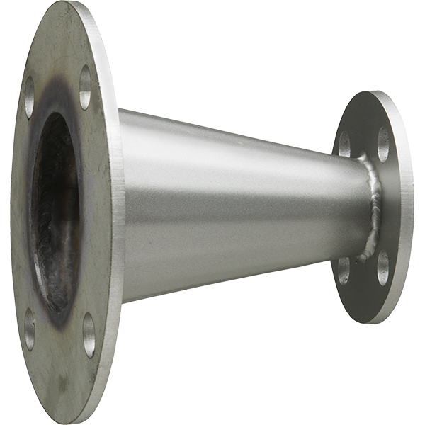 T stainless steel concentric reducer inch outlet