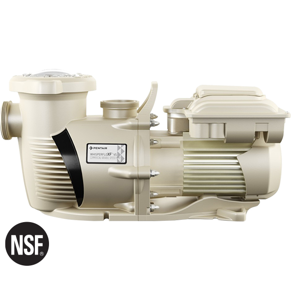 WhisperFlo high performance light commercial swimming pool pumps are designed for tireless operation and endurance.